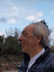 オーナーのマルコ・ケラー。ラジエーターをアフリカへ販売して財をなし、夢のワイン造りへ。