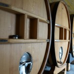 リザーヴ・ワイン用の4333リットルの木樽。
