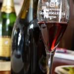 珍しい赤ワイン。これがロゼにも使用される。