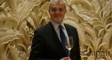 IWC(インターナショナル・ワイン・チャレンジ)で「スパークリング・ワイン・メーカー・オブ・ザ・イヤー」を通算7回受賞している、最高醸造責任者のレジス・カミュ氏。