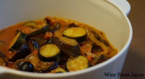 夏野菜をたっぷり食べられるラタトゥイユは、温かくても冷たくても美味しいので嬉しいですね。