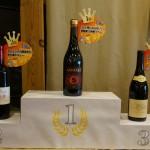 人気のワインが表彰台に乗っています。