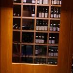 ワインセラーの正面入り口。