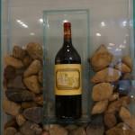 シャトー・デュクリュ・ボーカイユーの大きな色とりどりの石。ボーカイユー=美しい石、という名がつけられた理由が想像できます。