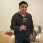 クロ・レオのオーナー兼醸造家の篠原麗雄さん。1974年生まれ、血液型はAB型。