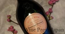 ボトルも美しいローラン・ペリエのロゼ。