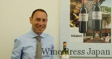 醸造家のルカ・マローネ氏。2003年からグラッタマッコを担当し、2007年からコッレ・マッサリも。