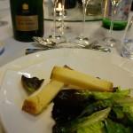 長期熟成されたチーズ、コンテと素晴らしい相性でした!