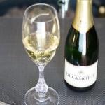 これはリーデルのシャンパーニュ・グラスの年号入り。