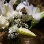 プイィ・フュメの館にディスプレイされていた香りのサンプル「白い花」。