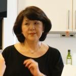 和食の料理本(英語訳)も出版された料理研究家の千葉真知子さん。