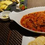 信州の夏野菜をたっぷり使ったカポナータ。