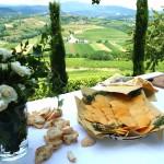 チーズの薄焼き「フリーコ」。モンタージオで作るのがコッリオならでは。