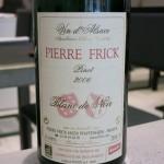 「ピエール・フリックのピノ・ダルザス。2006年のブラン・ド・ノワール」