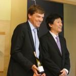 シャブリの解説役は、ルイ・モロー氏と佐藤陽一さんでした。