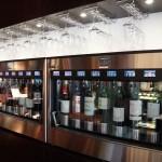 テイスティング、購入できるワインは常時24種類ほど。季節ごとにラインナップを変えています。