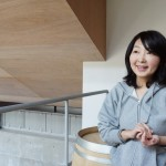 栽培醸造責任者・池野美映さん。ラインナップはシャルドネ、ピノ・ノワール、メルロー。