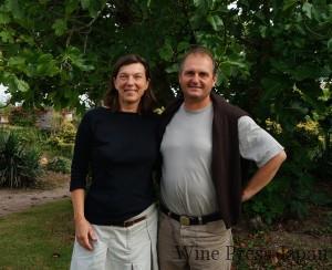 オリヴィエさんとカトリーヌさんご夫妻。