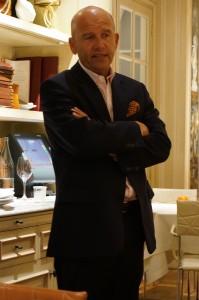 クリュ・ブルジョワ連盟副会長のオリヴィエ・キュヴリエ氏。