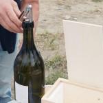 こちらはスイスの白ワイン。おなじくマグナムボトルです。