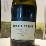 これが「ソナタ」のボトル。2010年ヴィンテージ。