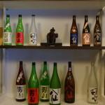 男山、八仙のボトルたち。ISARIBIは、上の右から3本目。