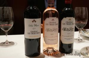 「ボルドーの格付けシャトーと同じだけ手をかけて」造られているワインたち。