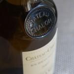 シャトー・シャロンは特別な620mlの瓶に入っています。