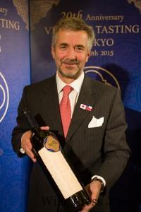 エラスリスの当主、エドゥアルド・チャドウィック氏。エラスリスはチリの大統領を4人も輩出した名家だ。