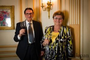 ミスター&ミセス・コート・ロティ、マルセル・ギガルご夫妻。